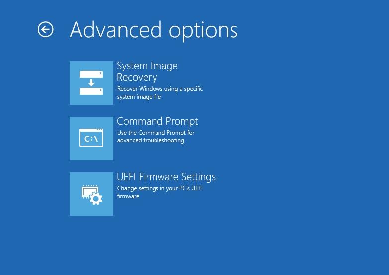 Windows Server advanced installation options