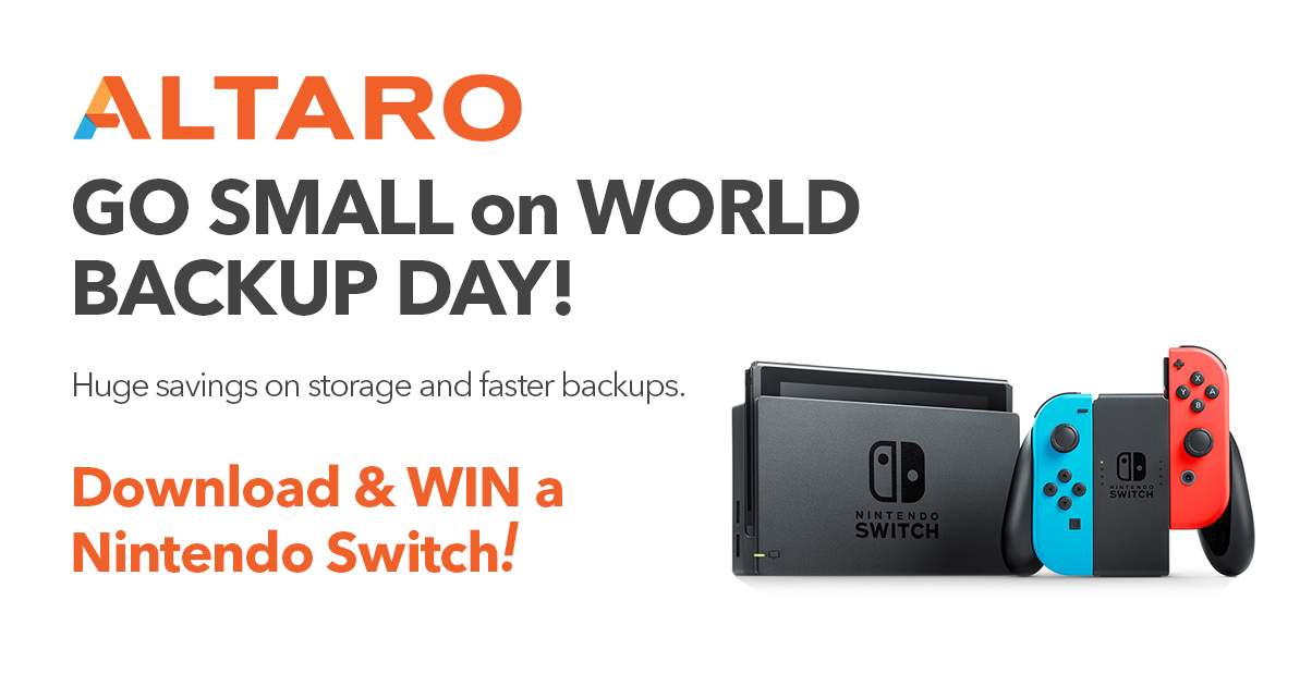 World Backup Day 2017 - Download & WIN