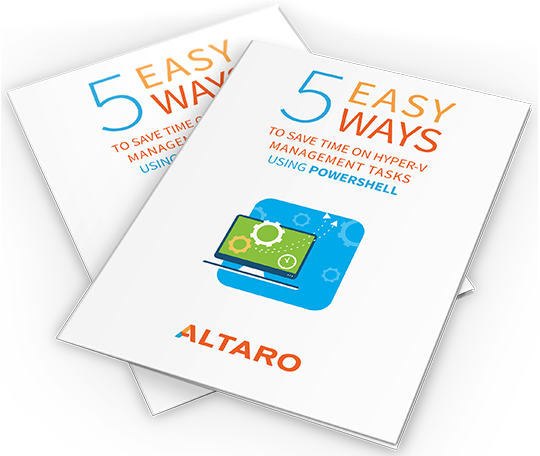 Hyper-V Ebook 5 Easy Ways Cover