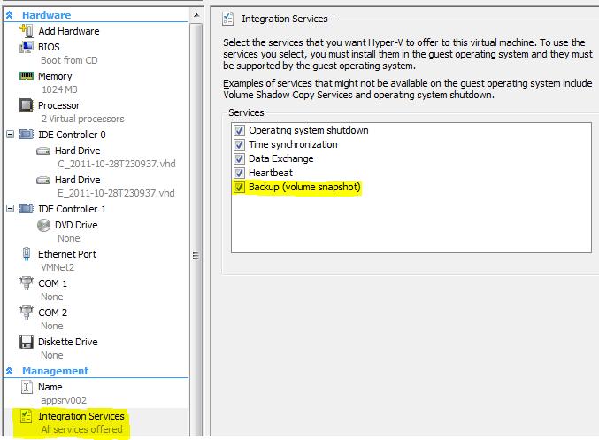 Hyper-V-Backup-Volume-Snapshot