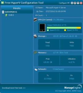 ManageEngine's configuration tool