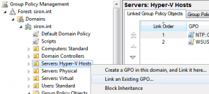 Linking a GPO