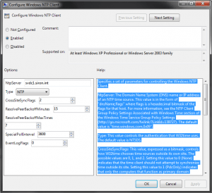 GPO NTP Client