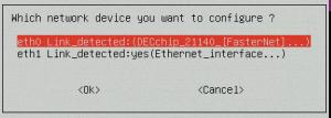 net_device Screen