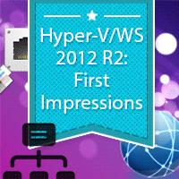 Windows-hyper-v-server-2012-R2-impressions
