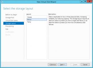 Virtual Disk Layout
