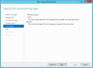 Virtual Disk Provisioning