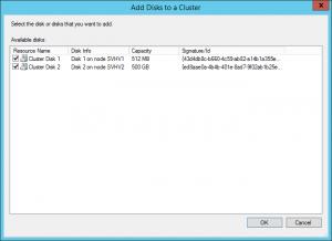 Clusterable Disks