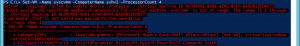 Invalid CPU Count