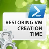 Restoring Virtual Machine Creation Time