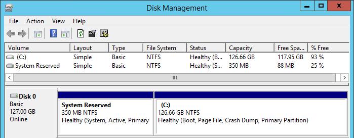 127 GB VHD