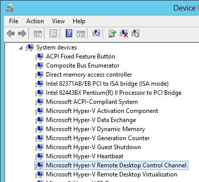 Remote Desktop Control Channel