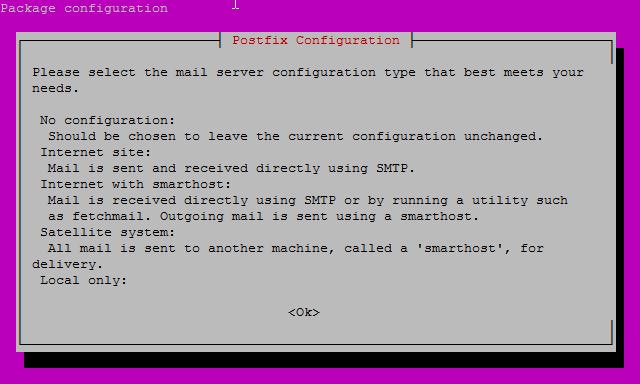 mailutil Install Screen
