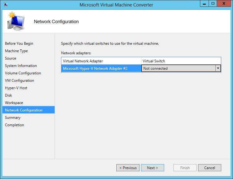 MVMC Target Virtual Switch
