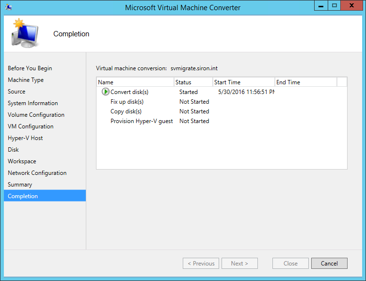 MVMC Progress