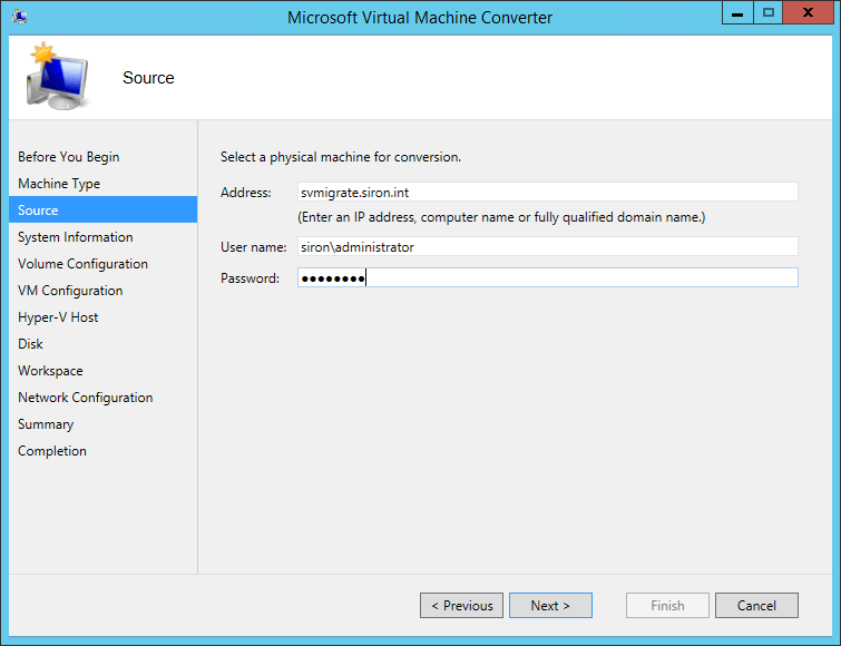 MVMC Source System