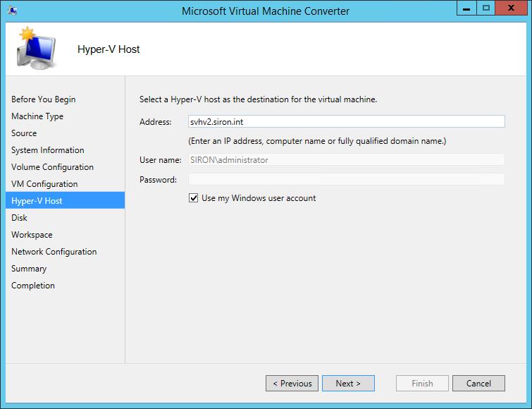 MVMC Target Host