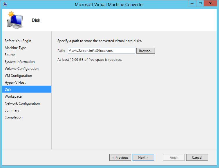 MVMC Target File Location