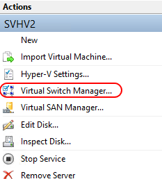 Open Virtual Switch Manager