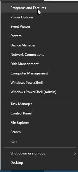 Windows 10 Start-X