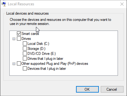 Additional Devices in Client Hyper-V