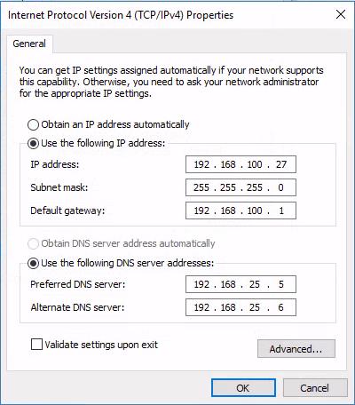 NAT Client IPv4