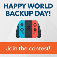 Join our World Backup Day contest!