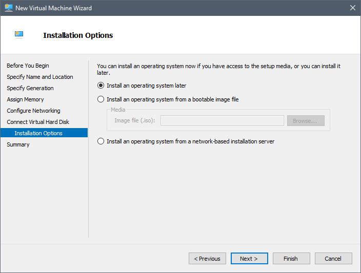Create Nested Hyper-V installation