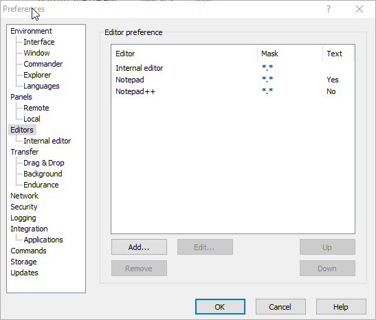 opensuse_add_winscp_editor