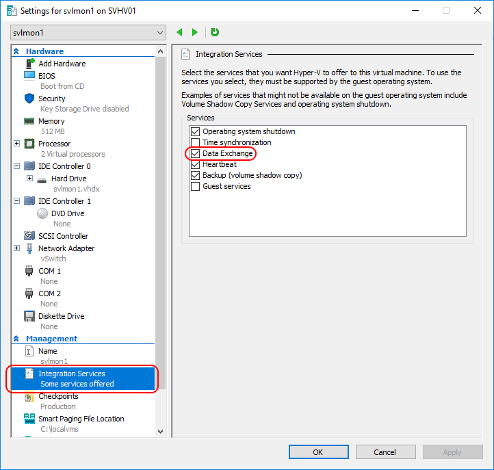 Hyper-V KVP Exchange on Linux