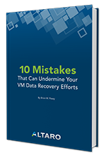 VM Data Recovery mistakes whitepaper