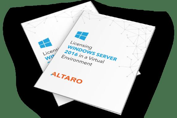 Licensing Windows Server 2016 in a Virtual Environment
