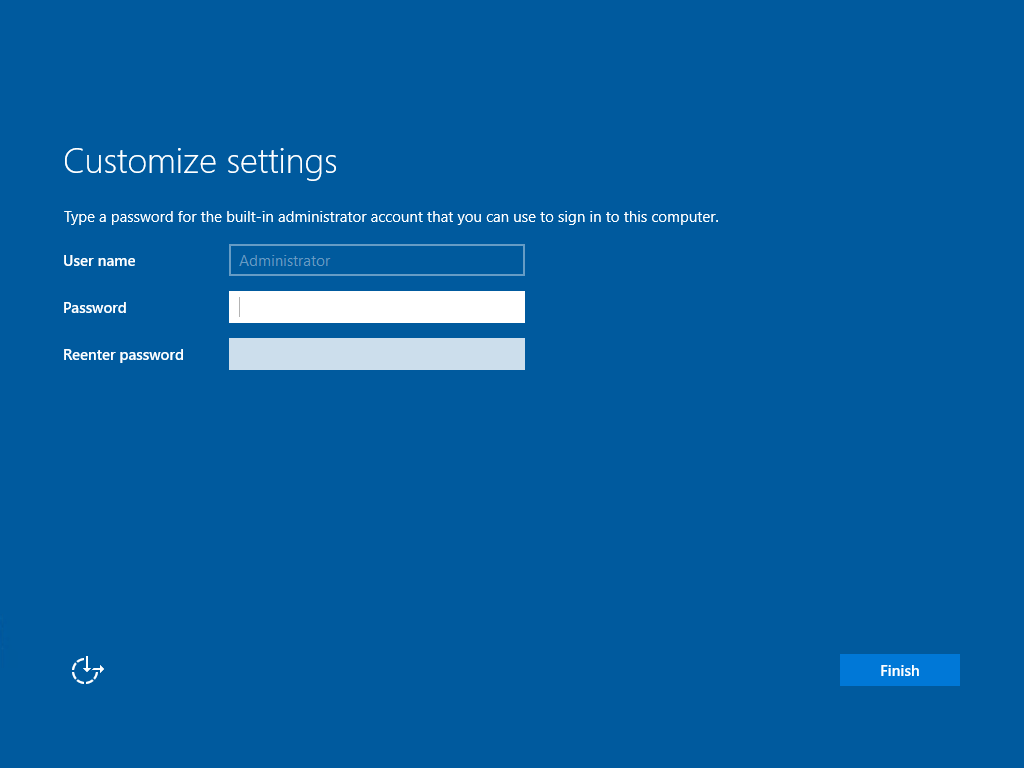 New Windows Server 2019 GUI Installation