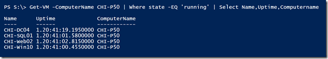 A simple PowerShell pipelined expression
