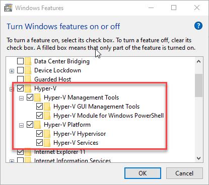 Hyper-V Platform and Management Tools