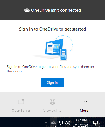 OneDrive For Business Sign In