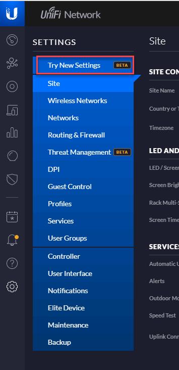 VPN Device configuration