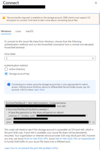 Azure File Synch Agent