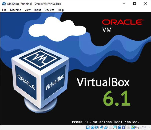 Virtualizing Windows 10 with Oracle VirtualBox