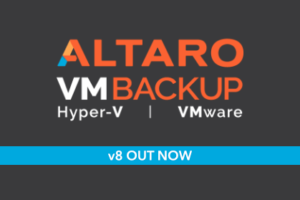 Announcing Altaro VM Backup v8