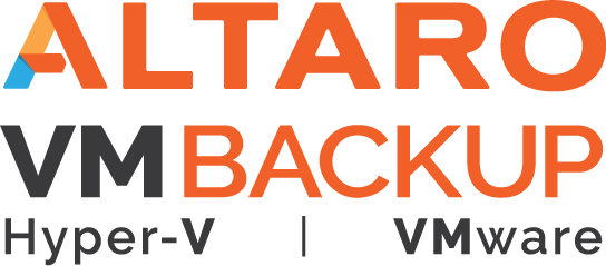 Altaro VM Backup Hyper-V and Vmware Logo