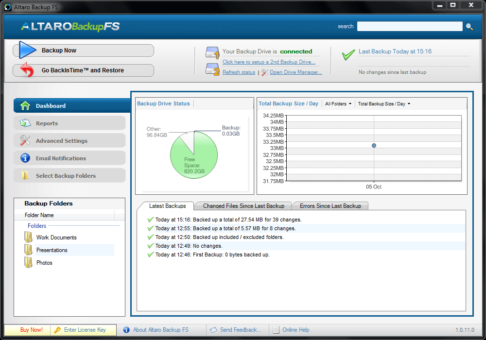 Professional PC And File Server Backup Software