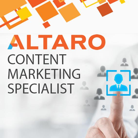 Career Content Marketing Specialist | Altaro