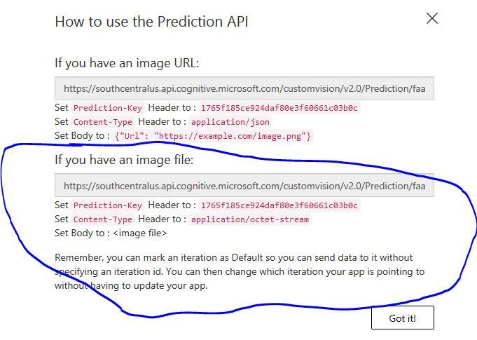 How to Use Prediction API