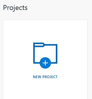 New Project - Azure AI