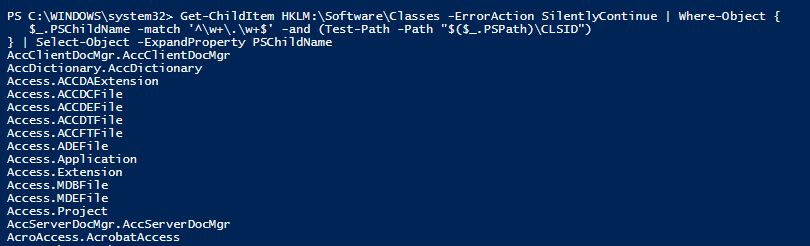 COM Object in PowerShell