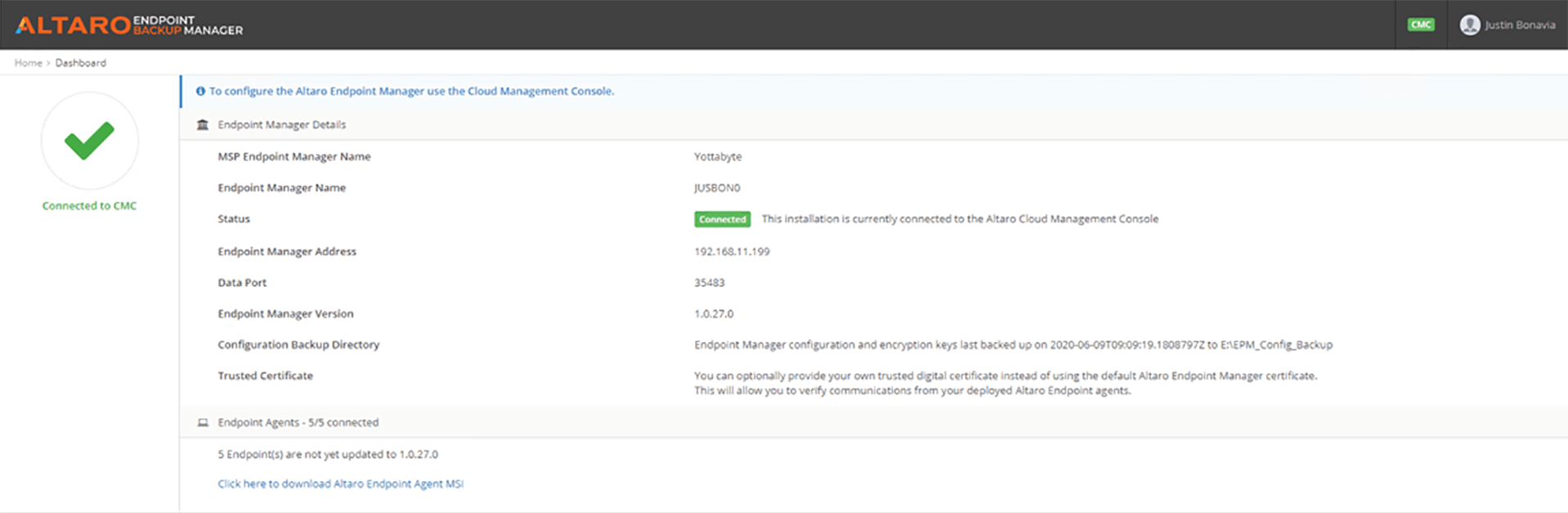 Altaro Endpoint Backup Manager