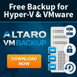 Download Altaro VM Backup