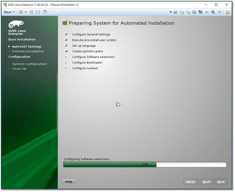 Figure 2 - SUSE Automated Installation