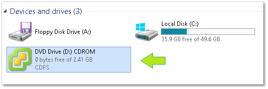 Install vCSA 6.5: Mounting the ISO installer in Windows